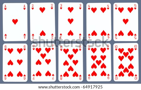 Playing Cards Hearts Playing Cards Hearts