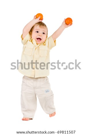 Playing With Tangerines