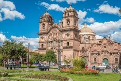 Plaza de Armas in Cusco Peru