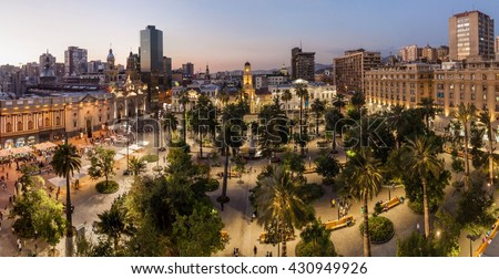 Shutterstock Plaza de Armas square in Santiago, Chile