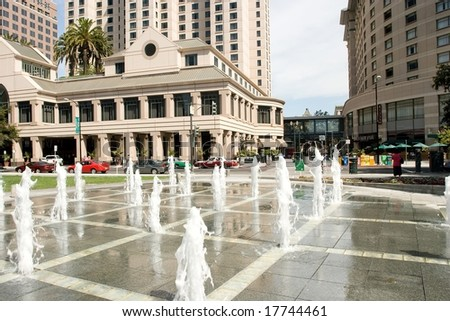Plaza de Cesar Chavez is a small park in Downtown San Jose, California, USA, named after Cesar Chavez in 1993.
