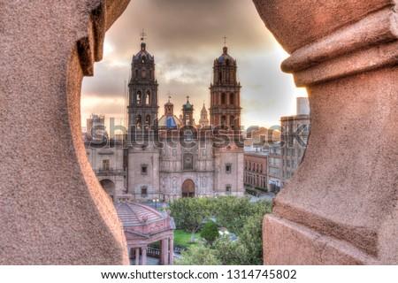 Plaza de las Armas, San Luis Potosi Stockfoto ©