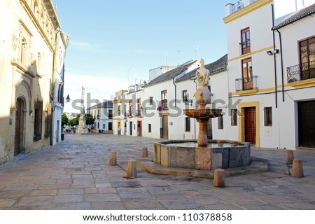 Plaza del Potro in Cordoba - Spain