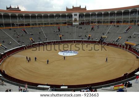 Plaza del Toros de La Venta, Madrid - stock photo