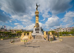 Plaza liberdad in el salvador, tourist attraction en america central