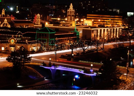 Plaza Lights Downtown Kansas