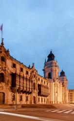 Plaza mayor de Lima, Peru.