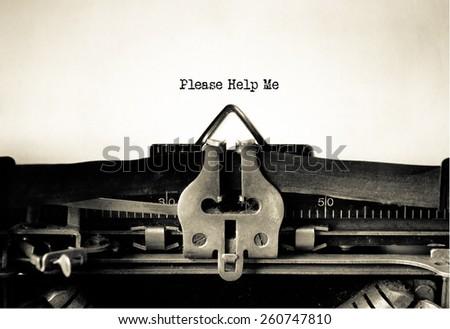 please help me written on...