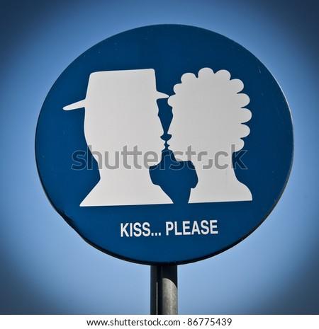 Please.. kiss! - stock photo