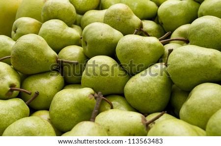 Plenty of Packham pears