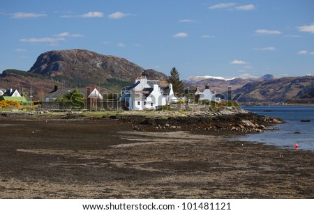 Plockton, Scotland - stock photo