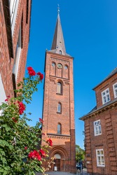 Ploen, Germany (German: Plön). The Nikolai Church (Nikolaikirche) is the Evangelical Lutheran main church of the town, originally from 1691 and rebuilt from 1866-1868 in neo-romanticism style.