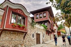Plovdiv cityscape, Bulgaria