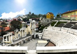 Plovdiv. The old town