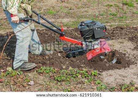 Plowed the garden #621910361