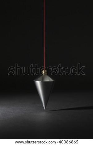 Plumb on black background