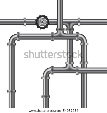 plumbing water pipelines valve isolated copy space plumbing background
