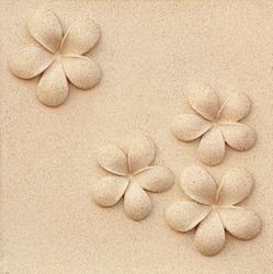 Plumeria carved stone