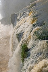 Plunging over the Brink at Iguazu Falls in Brazil