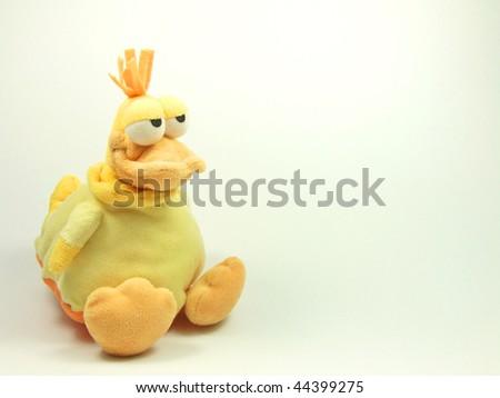 Plush chicken