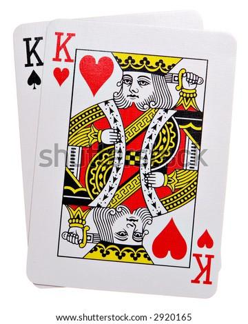 Pocket Kings Isolated on white background
