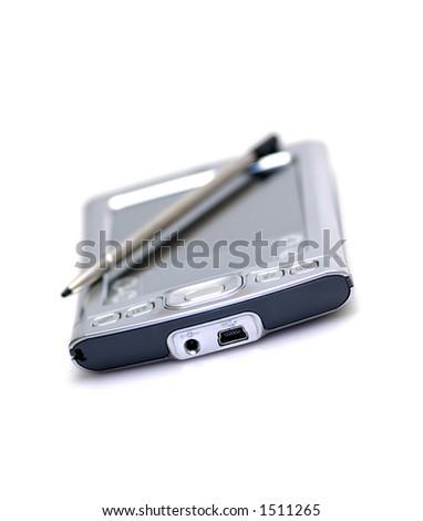 Pocket PC on white background