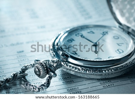Pocket watch financial report