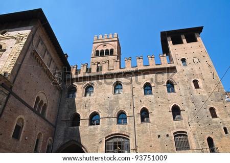 Podest?'s Palace. Bologna. Emilia-Romagna. Italy.