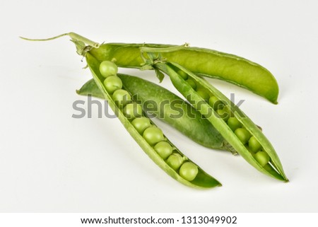Pods of peas #1313049902