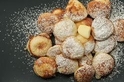Poffertjes Dutch Mini Pancakes