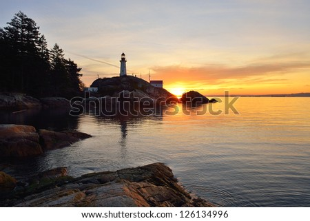 Point Atkinson Lighthouse, West Vancouver, British Columbia