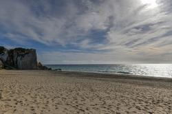 Point Dume State Beach and Preserve in Malibu, California