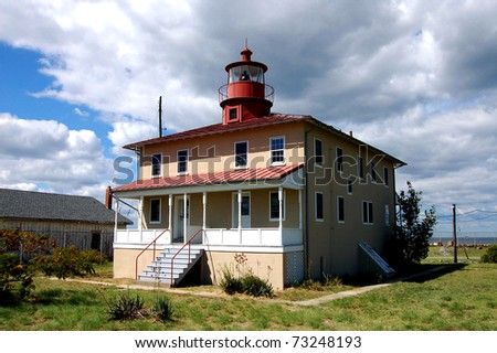 Point Lookout Lighthouse in Scotland, St. Mary's County, Maryland