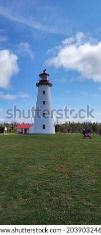 Point prim light house Prince Edward Island Stock foto ©