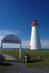Point Prim Lighthouse on Prince Edward Island, Canada