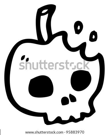 Poison Apple Cartoon Stock Photo 95883970 Shutterstock