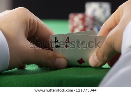 Poker Aces pair