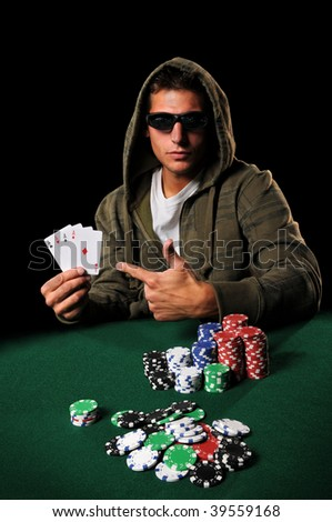 Doctor poker player