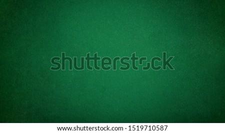 Poker table felt background in green color Zdjęcia stock ©