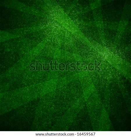 poker table texture with some rays on it - stock photo