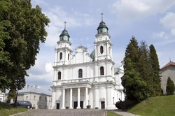 Poland , Chelm - Basilica of the Blessed Virgin Mary