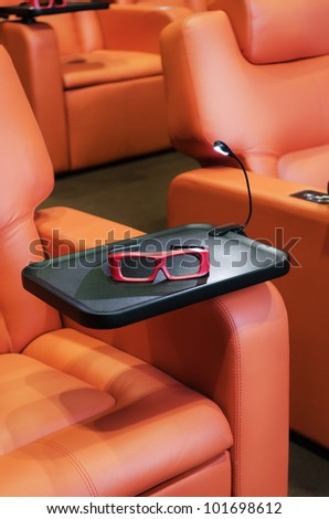 Polarized 3D Glasses for watching 3-D Movies/3D Glasses