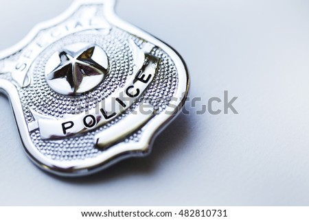 Police badge #482810731