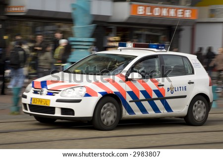 Police car (Dutch)
