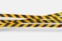 police caution line area, do not cross, security warning black and yellow tabe