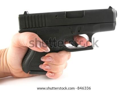 Police Hand Gun