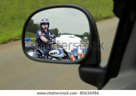 police officer on his...