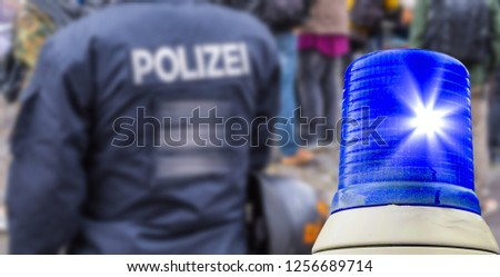 police operation Germany