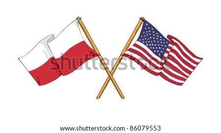 Polish - American alliance and friendship