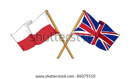 Polish - British alliance and friendship